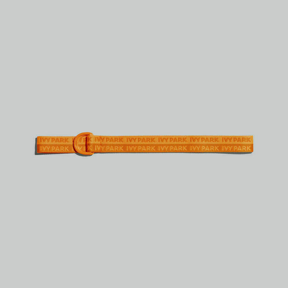 ADIDAS IVY PARK LOGO BELT SOLAR ORANGE
