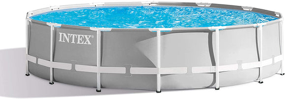 Intex Round Prism Frame Pool Set | 14ft x 42