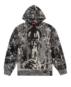 SUPREME MILES DAVIS HOODED SWEATSHIRT BLACK