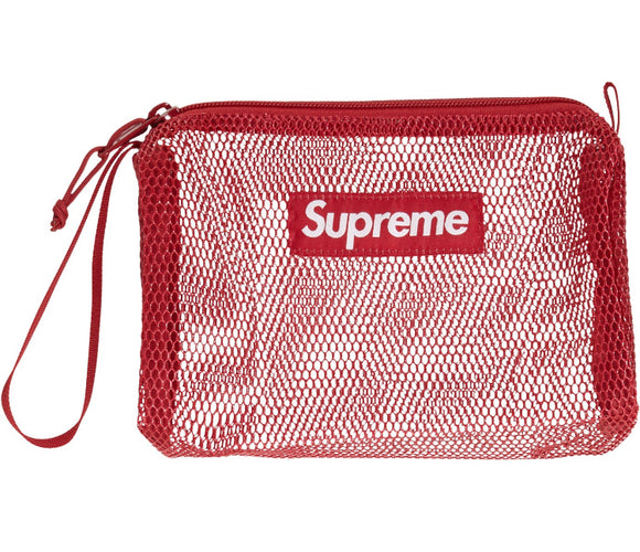 SUPREME UTILITY POUCH (SS20) DARK RED