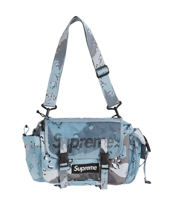 SUPREME WAIST BAG (SS20) BLUE CHOCOLATE CHIP CAMO