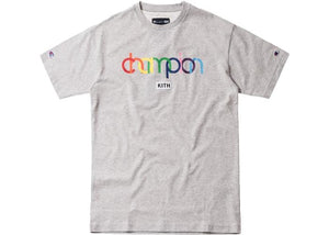 KITH X CHAMPION DOUBLE LOGO TEE