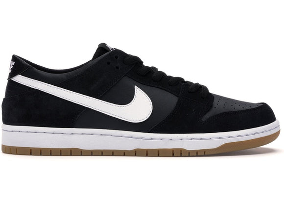 Nike SB Dunk Low Black White Gum