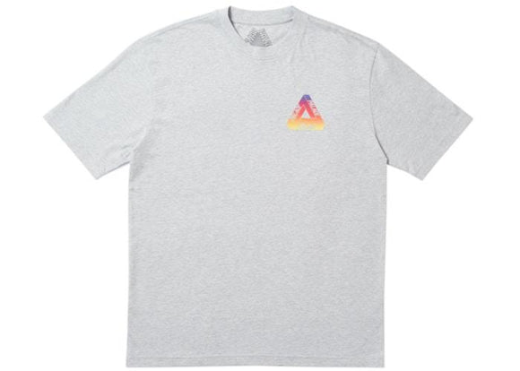 PALACE GLOBULAR TEE GREY MARL