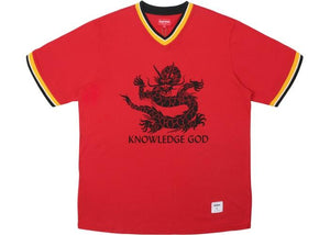 SUPREME KNOWLEDGE GOD PRACTICE JERSEY RED