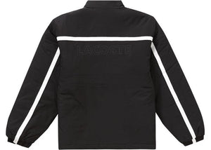 Supreme LACOSTE Puffy Half Zip Pullover Black