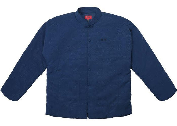 SUPREME MANDARIN JACKET NAVY