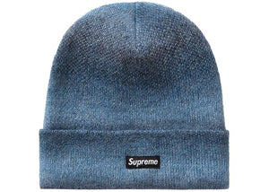 SUPREME MOHAIR BEANIE MIXED BLUE