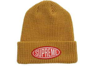 SUPREME OVAL PATCH BEANIE
