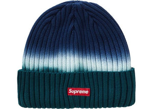 SUPREME OVERDYED BEANIE NAVY