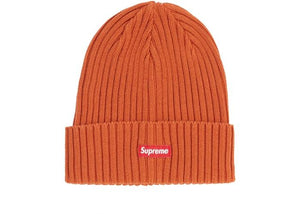 SUPREME OVERDYED BEANIE ORANGE