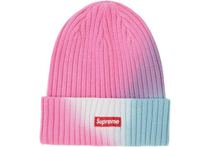 SUPREME OVERDYED BEANIE PINK
