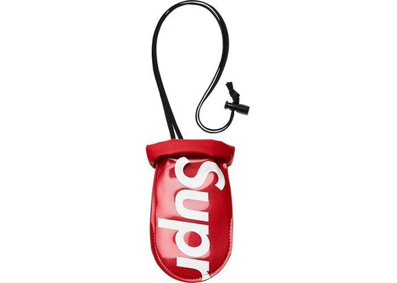 SUPREME SEALLINE SEE POUCH SMALL RED