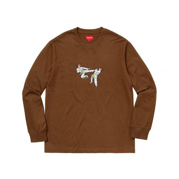 SUPREME KARATE TEE BROWN