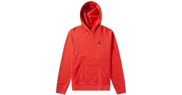 NIKE JORDAN UNION NRG VAULT JUMPMAN HOODIE RED