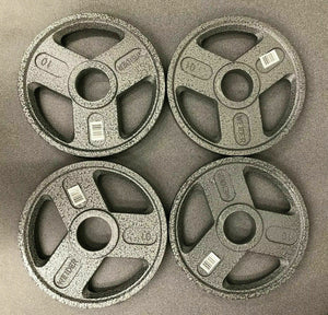 Individual Weider Olympic Weight Plates and Barbell - 45/35/25/10/5/2,5