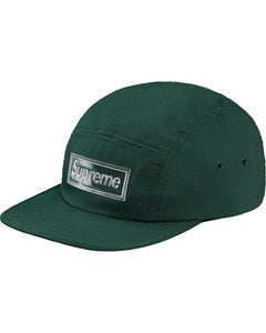 SUPREME NYLON PIQUE CHAMP CAP GREEN