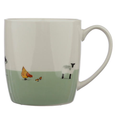 Willow Farm Porcelain Mug - Hello Chestnut