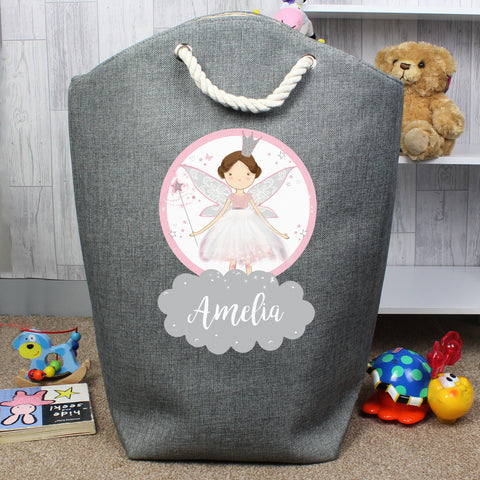 Personalised Fairy Princess Storage Bag - Hello Chestnut