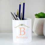 Personalised Floral Bouquet Storage Pot
