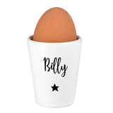 Personalised Star Name Egg Cup - Hello Chestnut
