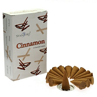 Stamford Cinnamon Incense Cones - Hello Chestnut