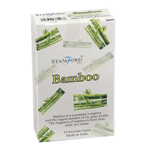 Stamford Bamboo Incense Cones - Hello Chestnut