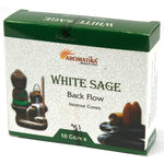 Aromatica White Sage Backflow Incense Cones - Hello Chestnut
