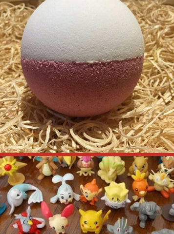 Hidden Treasure Pokee Bath Bomb - Hello Chestnut