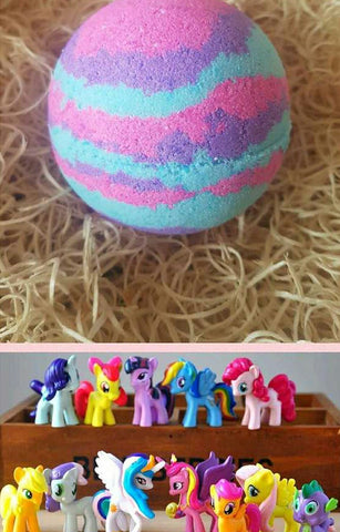 Hidden Treasure Little Pony Bath Bomb - Hello Chestnut