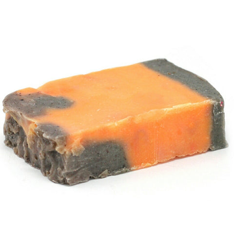 Cinnamon & Orange Olive Oil Soap Slice - Hello Chestnut