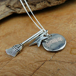 Personalised Magic Charm Necklace - Hello Chestnut