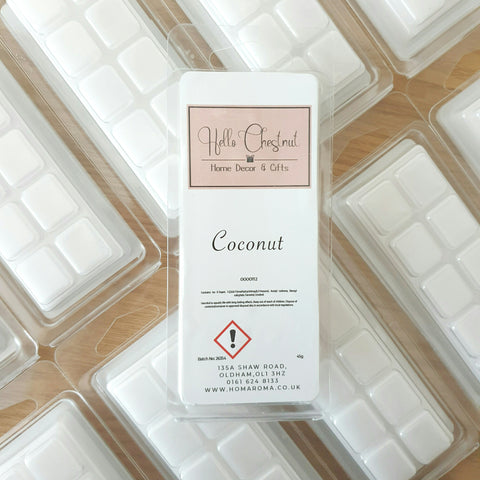 Coconut Wax Melt Bar - Hello Chestnut