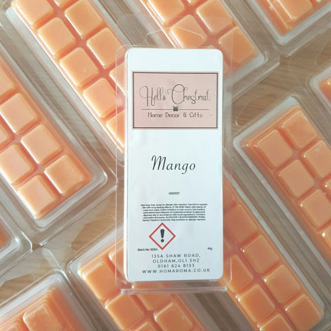 Mango Wax Melt Bar - Hello Chestnut