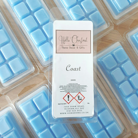 Coast Wax Melt Snap Bar - Hello Chestnut
