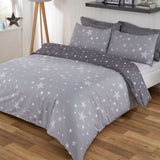 Grey Stars Duvet Set - Hello Chestnut