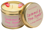 Caramel & Pink Pepper Candle In A Tin - Hello Chestnut