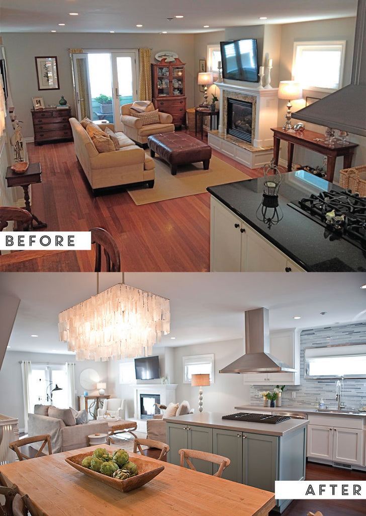 Coronado Beach Bungalow Before And After