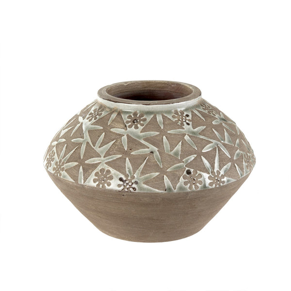 Petal Terracotta Vase - Bungalow 56 Living