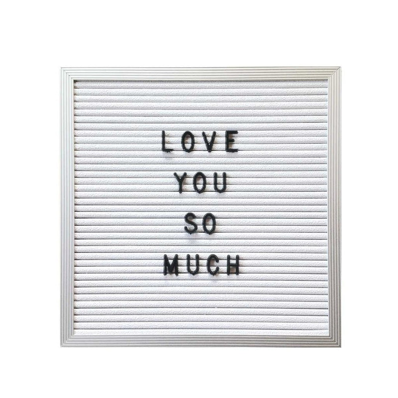 WHITE LETTER BOARD - Bungalow 56 Living