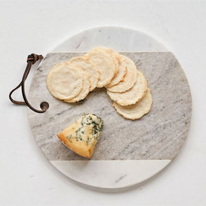 Round Marble Cheese Board - Bungalow 56