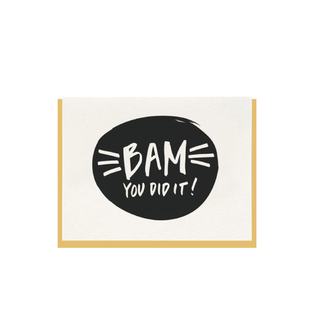 Bam You Did It Card - Bungalow 56