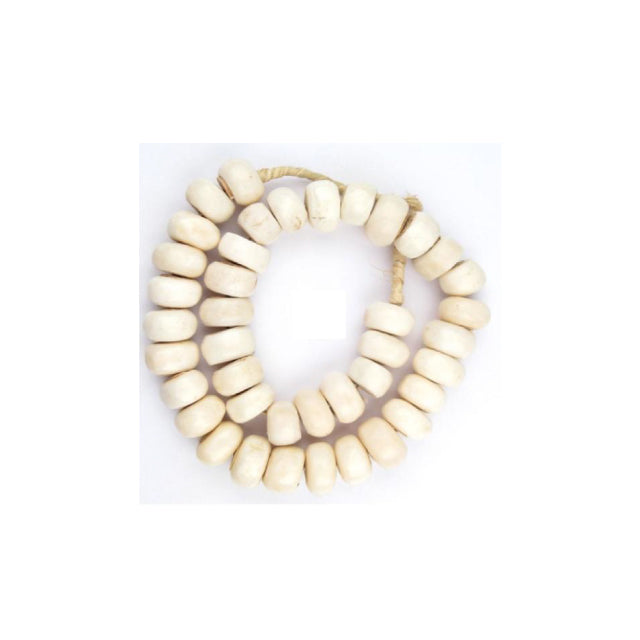 WHITE BONE BEADS - Bungalow 56 Living