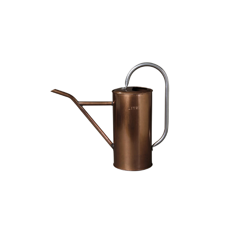 Tin Watering Can Bronze 1.0L - Bungalow 56 Living