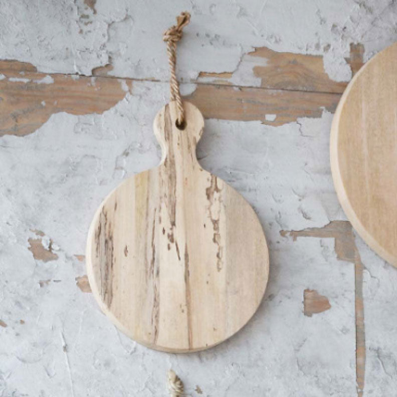 ROUND DELI CUTTING BOARD SMALL - Bungalow 56