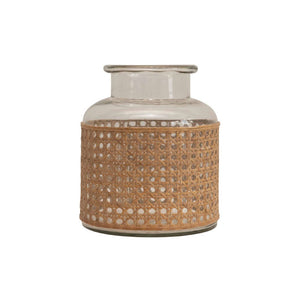 Cane Wrapped Vase - Bungalow 56