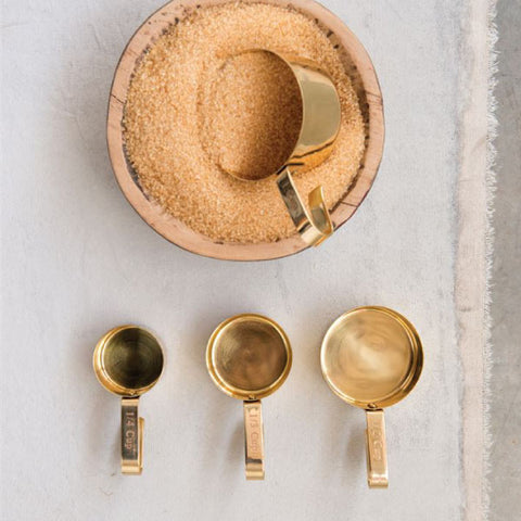 Gold Measuring Cups - Bungalow 56 Living