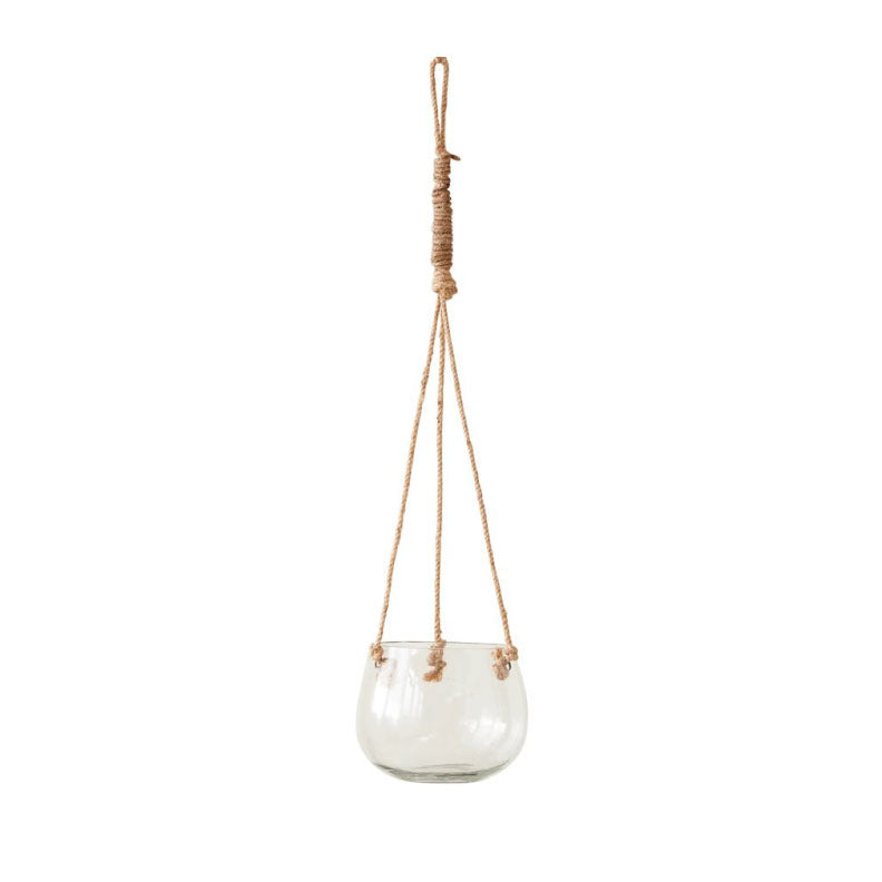 JUTE HANGING POT - Bungalow 56 Living