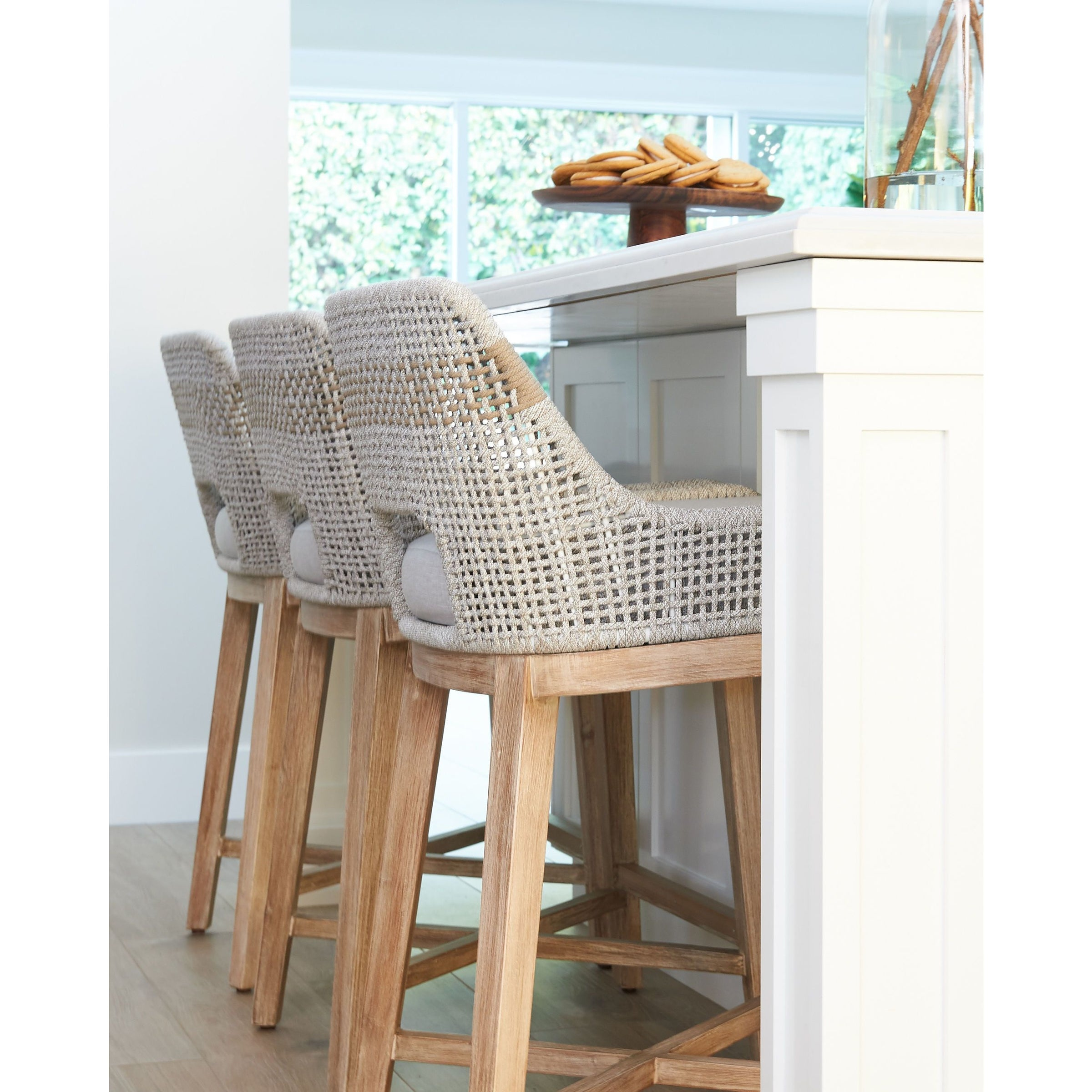 Swell Rope Counter Stool Pabps2019 Chair Design Images Pabps2019Com