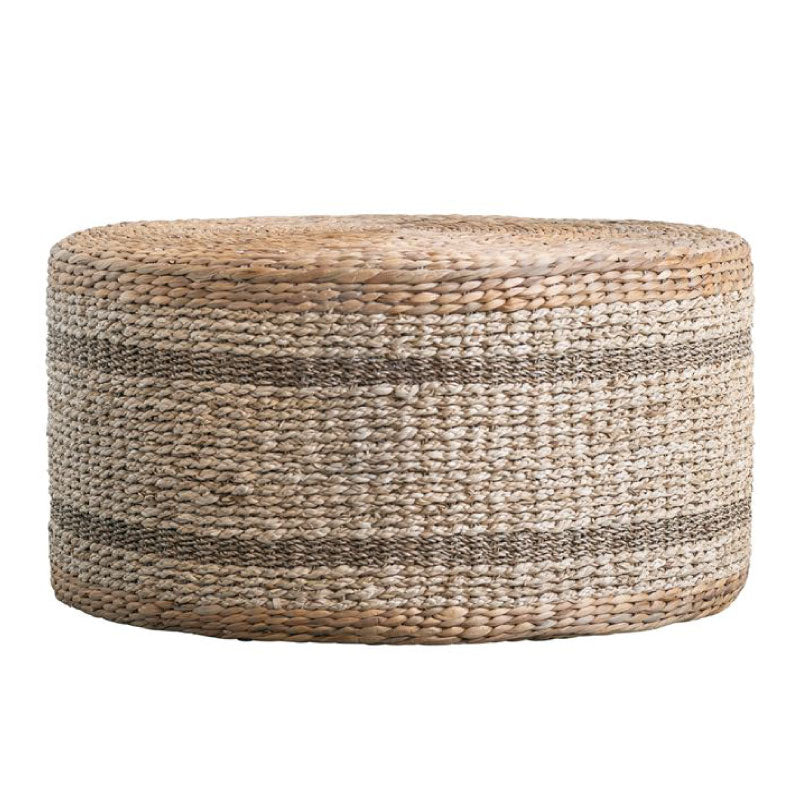 HYACINTH + SEAGRASS POUF - Bungalow 56 Living